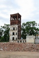Dilapidated Facemate tower still standing before demolition