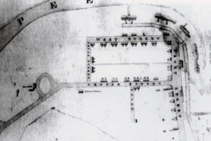 Blueprint of mill
