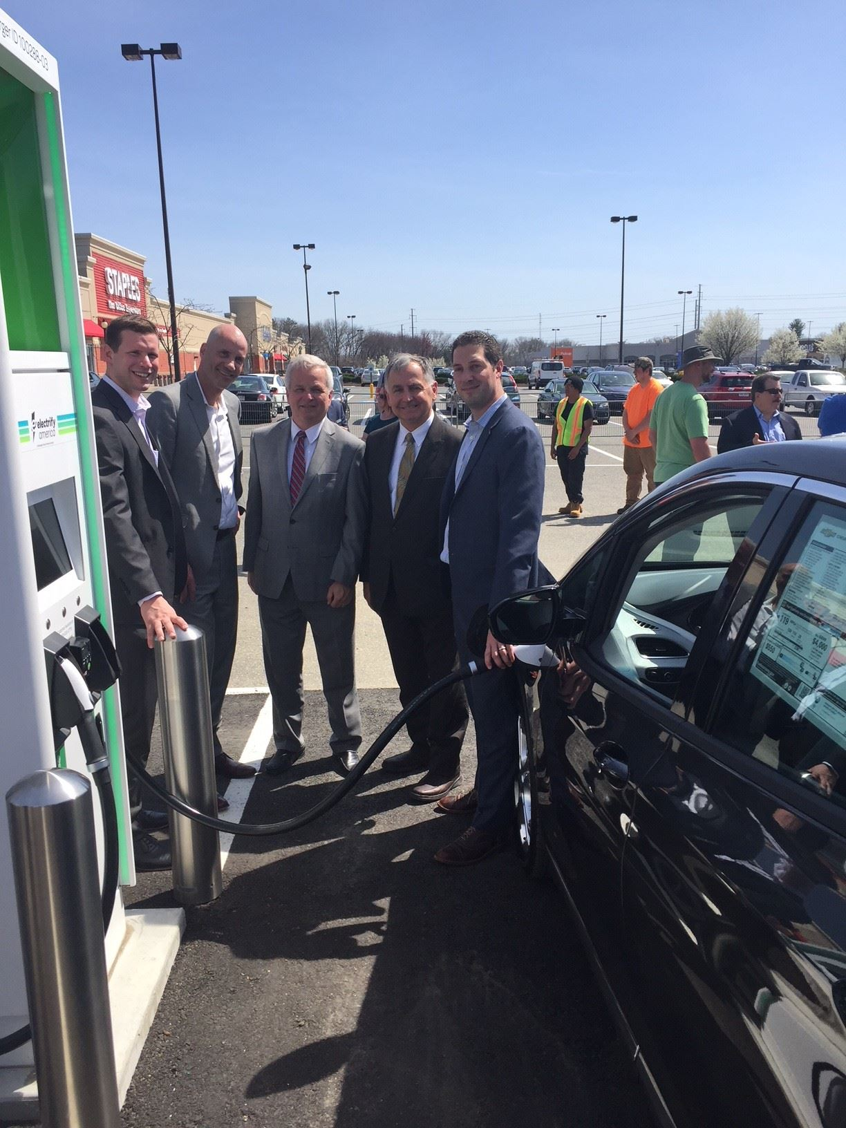 [ARCHIVED] Chicopee Welcomes Electrify America's First Ultra-Fast Charging Station