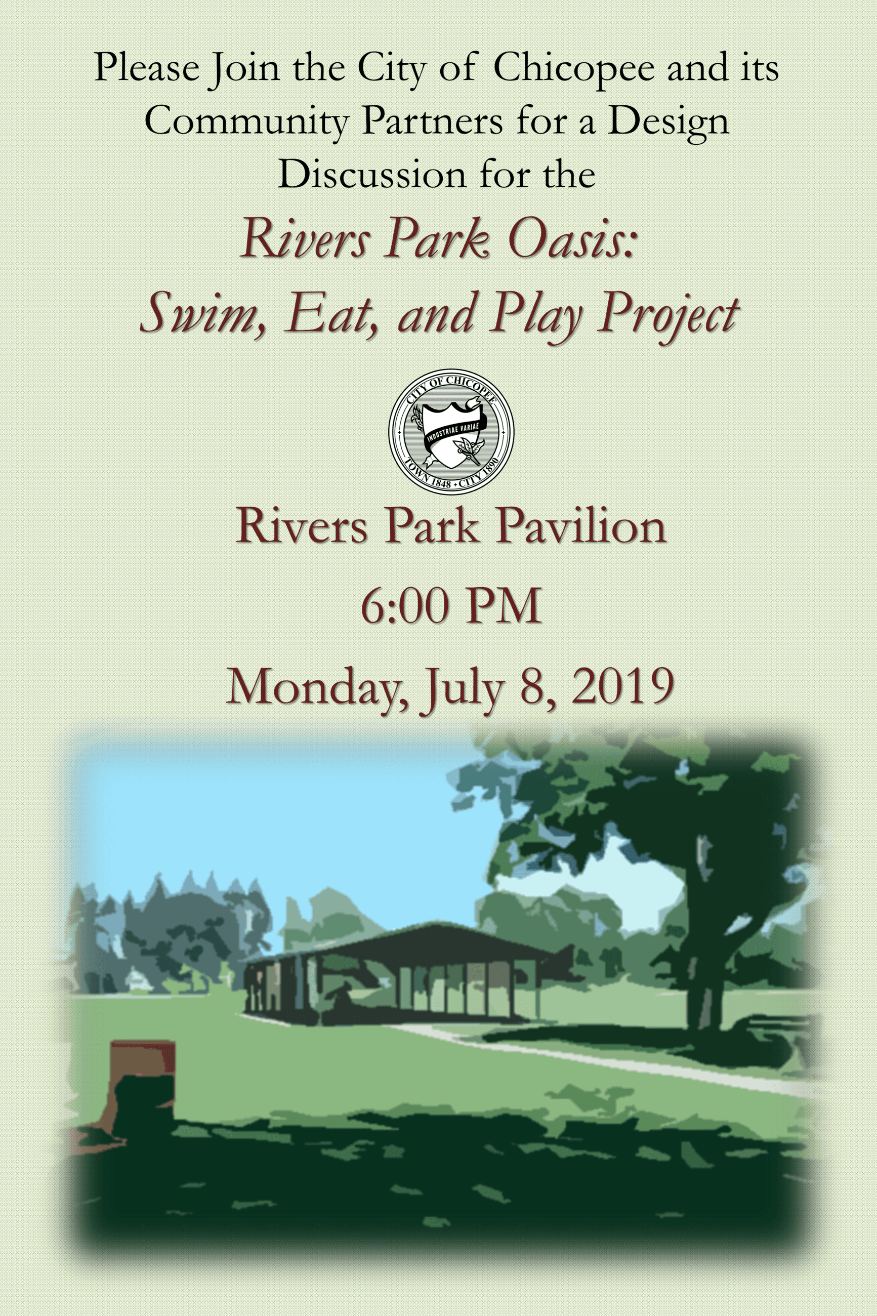 PARC Grant Meeting flyer