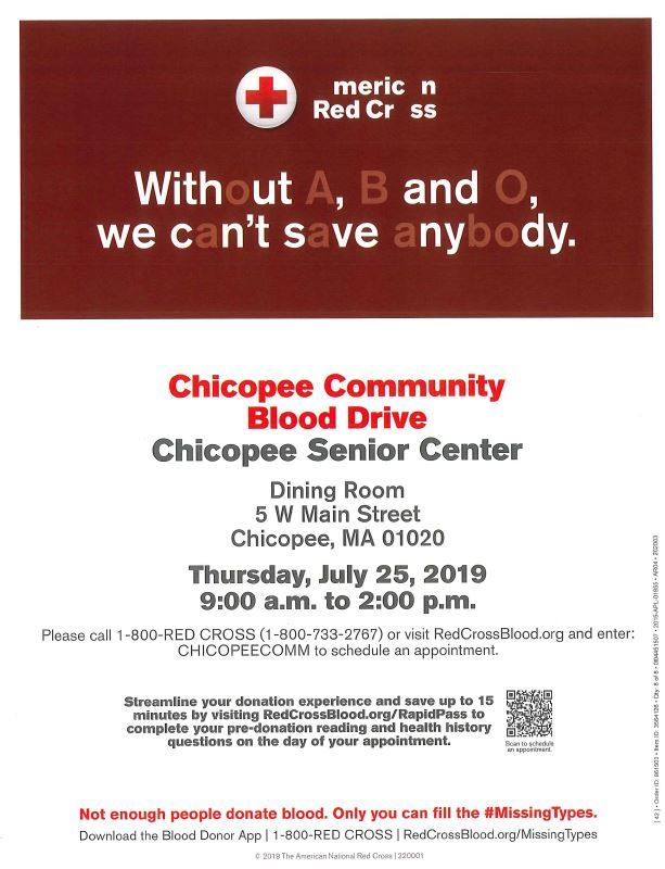 RedCross Blood Drive 07.25.2019