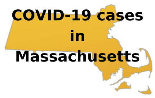 COVID-19 cases in Massachusetts