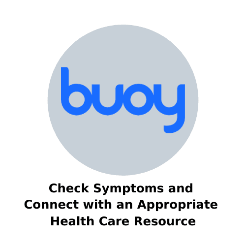 check symptoms and connect with an appropriate health care resource