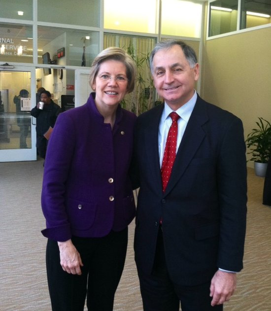 Senator Warren Visits Western Mass