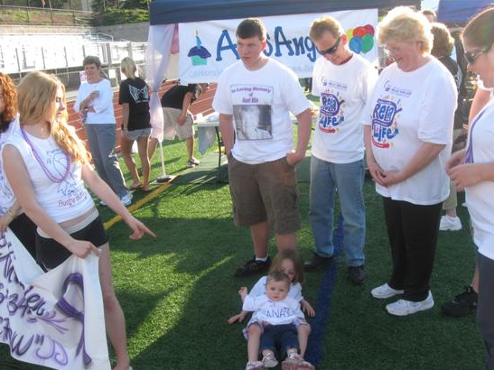 Children at the Relay for Life