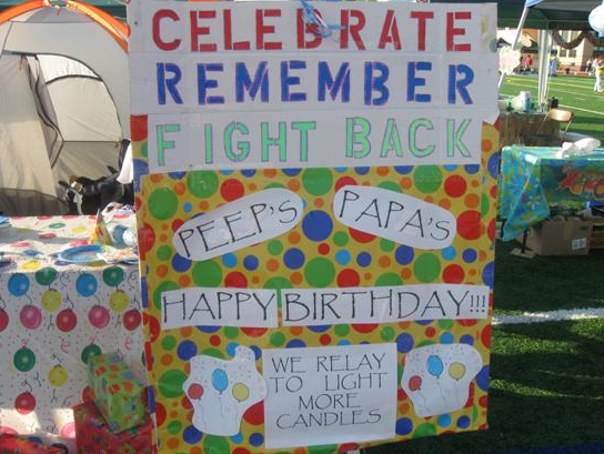 Relay Poster - Celebrate, Remember, Fight Back