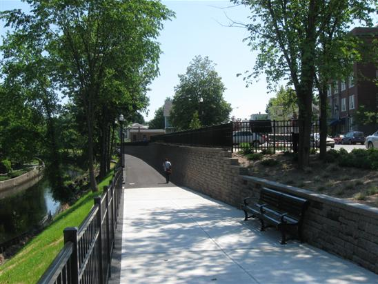 Scenic Canal Path