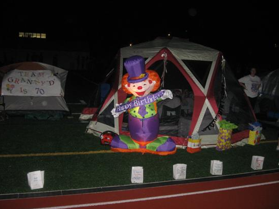 Inflatable Birthday Clown