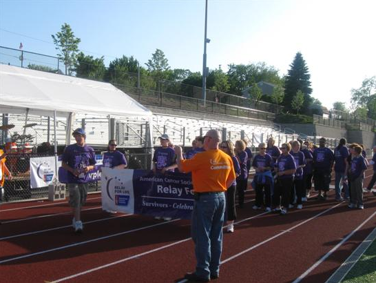 Survivors at the Relay